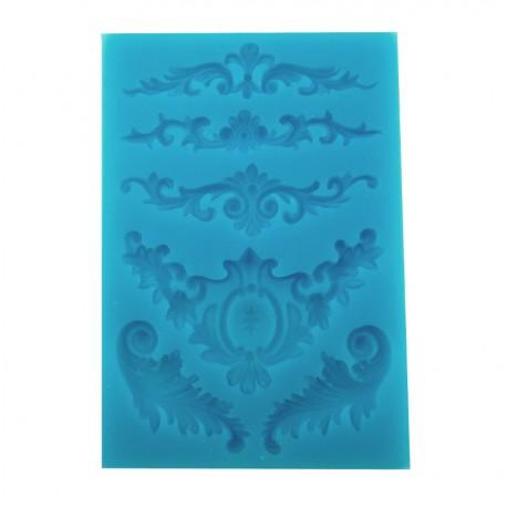 pentart-foremka-silikonowa-6-ornamentow-barokowych-mix